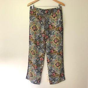 LOFT Fluid Drawstring Pants size Small